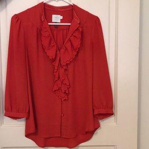 Anthropologie {HD in Paris} 3/4 blouse